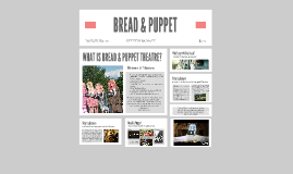BREAD & PUPPET