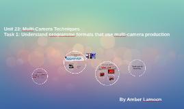 Unit 23: Multi-Camera Techniques