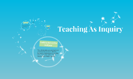 Teaching As Inquiry