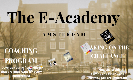 The E-Academy