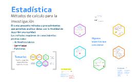 Introducción al curso de Estadística I