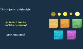 Objectivity Principle