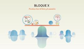 BLOQUE X