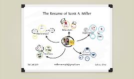 White Board Prezumé by Scott Miller