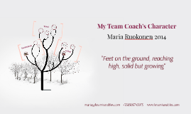My Team Coach Character