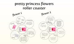 pretty princess flowers roller coaster