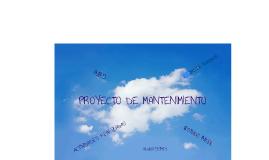 Copy of AVANCES DEL PROYECTO DE MANTENIMIENTO