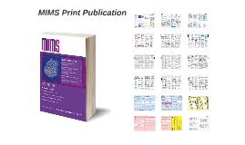 MIMS December 2015 Print Publication
