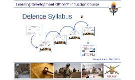 Defence Syllabus