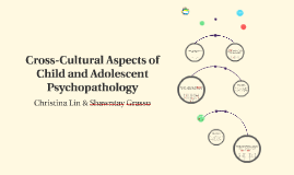 Cross-Cultural Aspects of Child and Adolescent Psychopatholo