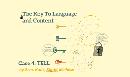The Key To Language and Content