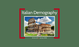 APES Italy Demography