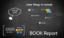 Reusable EDU Design: Book Report Brainstorm de Manuel Gonzalez