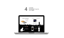 4 powerful presentation lessons from Apple