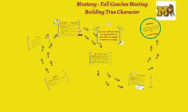 Fall Coaches Meeting