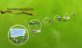 Les toits végétalisés