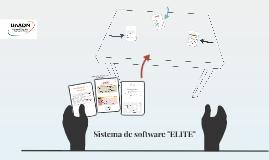 """Sistema de software """"ELITE"""""""