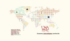 Empresa, externalidades, localización