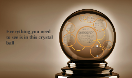 Everything you need to see is in this crystal ball