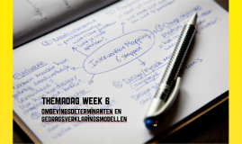 themadag week 6