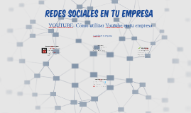 Redes Sociales: You-tube