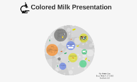 Colored Milk Presentation