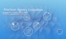 Maclean Agency Evaluation
