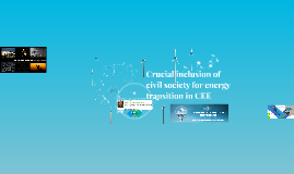 Crucial inclusion of civil society for energy transition in CEE