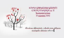 Copy of Copy of prezentare Gadinti