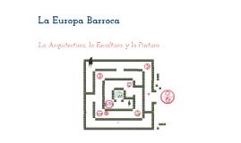 3.1 La Europa Barroca