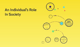 An Individual's Role In Society