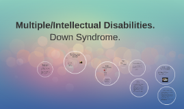 Multiple/Intellectual Disabilities.