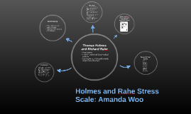 holmes and rahe stress scale College student's stressful event checklist instructions : the checklist on the following page is from: t h holmes and r h rahe (1967) the social readjustment scale.