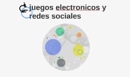 juegos electronicos y redes sociales