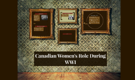 Womens Role During WWI