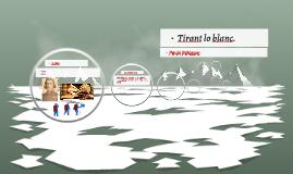 Copy of Tirant lo blanc.