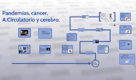 Pandemias, cáncer, A.Circulatorio y cerebro.