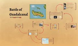 Copy of Battle of Guadalcanal