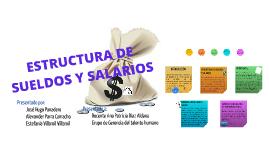 ESTRUCTURA DE SUELDOS Y SALARIOS