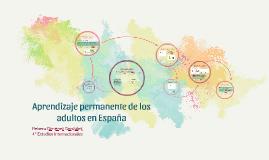 Aprendizaje permanente de los adultos en España