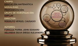 Copy of Copy of LA INTERPRETACIÓN Y USO DE LA LETRA COMO NÚMERO GENERALIZADO