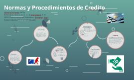 Normas y Procedimientos de Credito