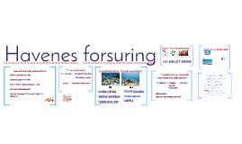 Havenes forsuring