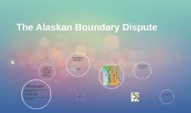 The American Boundary Dispute