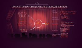 LINEAMIENTOS CURRICULARES DE MATEMATICAS