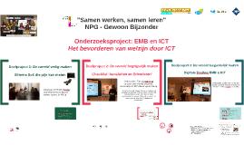 Onderzoeksproject 7: EMB & ICT