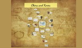 Copy of China and Korea