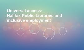 Universal access: