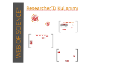 WOS - ResearcherID Kullanımı