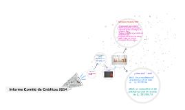 Informe Comité de Créditos 2014